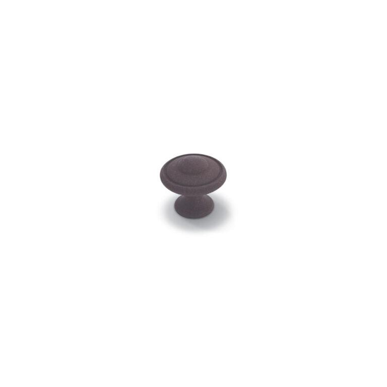 Beveled Knob Iron Oxide