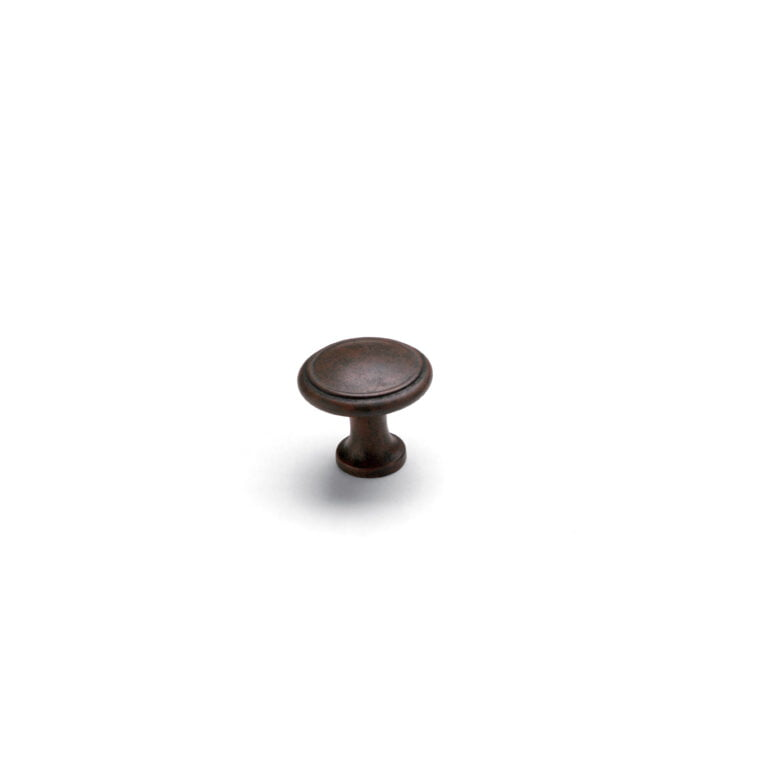 Button Knob Patina
