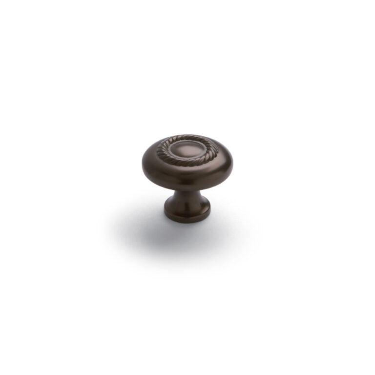 Rope Knob Oiled Bronze